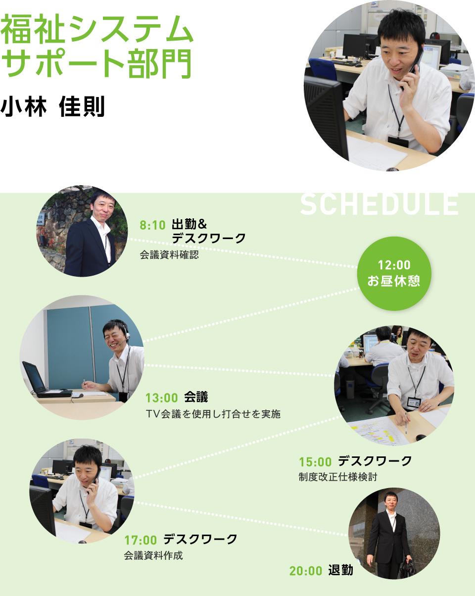 福祉システムサポート部門(SE職)